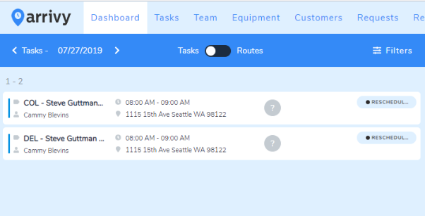 Multiple tasks created via Current RMS sync